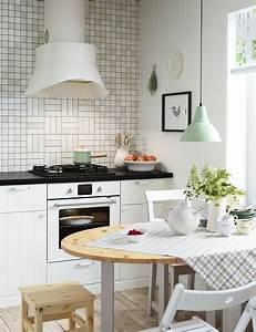 Deco Cuisine Ikea : la cuisine vintage s 39 affirme en d co tendance ~ Teatrodelosmanantiales.com Idées de Décoration