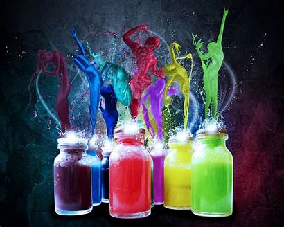 Colorful Wallpapers Backgrounds Bottles Pc Elegant Freecreatives