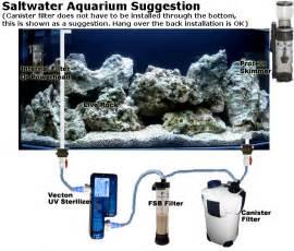 Nano Reef Lighting by Basic Saltwater Aquarium Set Up Marine Tank Diagrams