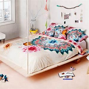 Parure De Lit Desigual : parure de lit percale mandala desigual ~ Melissatoandfro.com Idées de Décoration