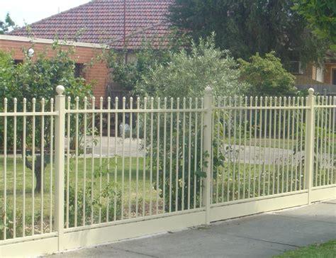 front gates and fences front fences melbourne front yard fencing front garden fencing melbourne
