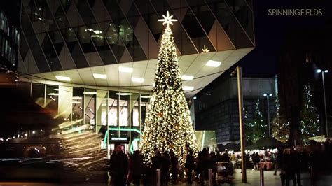 Spinningfields Manchester Christmas Tree
