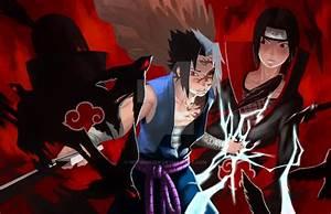 Sasuke vs Itachi by He11Bringer on DeviantArt