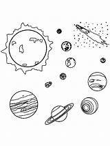 Planets Coloring Pages Printable Space Recommended Mycoloring sketch template