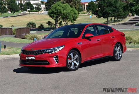 2016 kia optima gt turbo review video performancedrive