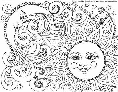 Space Adults Coloring Pages Printable Everfreecoloring