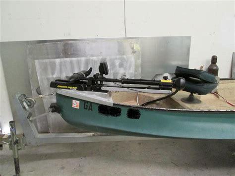 Trolling Motor Size For Jon Boat by Diy Trolling Motor Mount For Jon Boat Diy Do It Your Self
