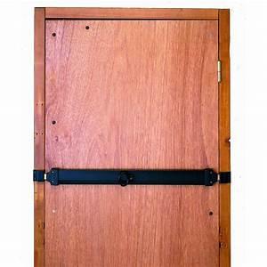 Barre De Porte D Entrée : barre de s curit en acier zingu pour portes de garage l ~ Premium-room.com Idées de Décoration