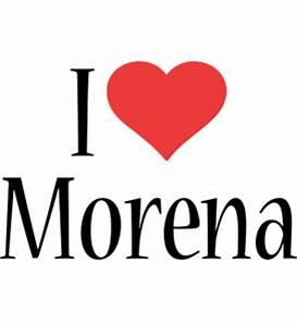 Morena Logo Name Logo Generator - Kiddo, I Love, Colors