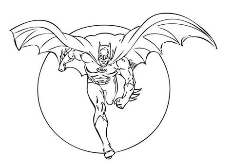 Free Printable Batman Logo Coloring Pages For Kids