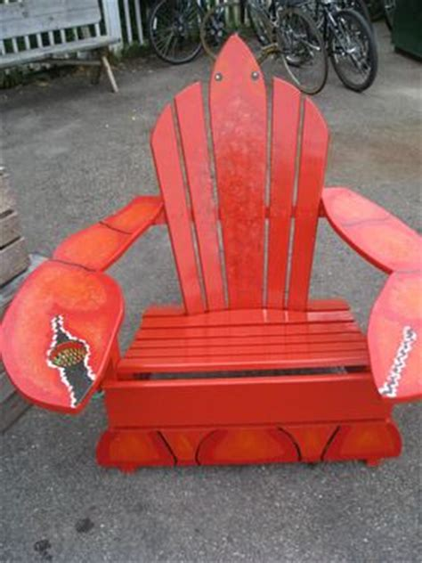 lobster adirondack chairs joescrabshack for the of