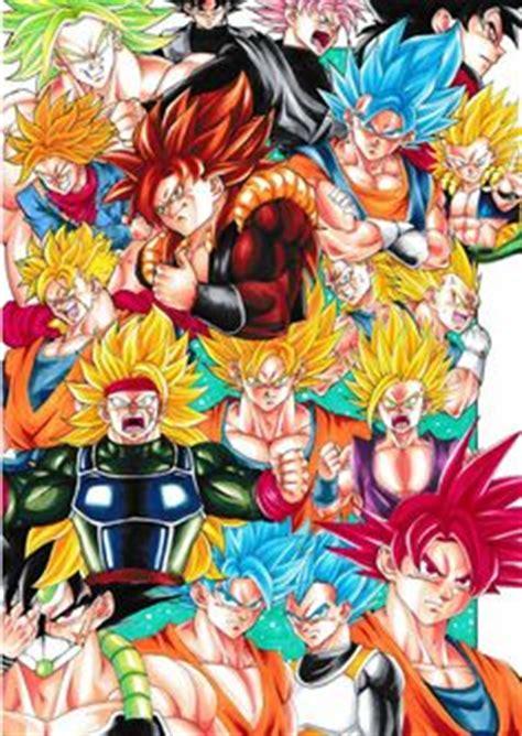 Tags Anime Pixiv Id 9040790 Z Todas Las Transformaciones De Goku