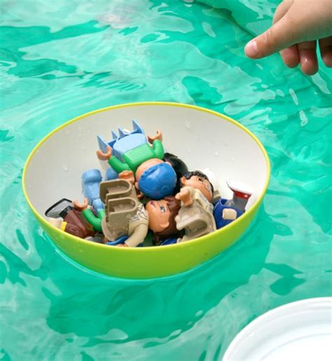 preschool science investigation create a boat 100 | Sink and Float Preschool Science