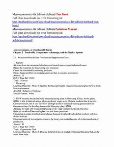 Macroeconomics 4th Edition Hubbard Test Bank By Xszz