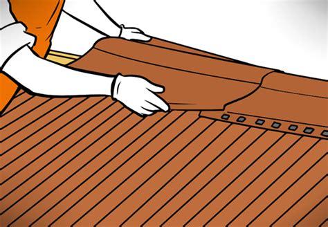 Dachpappe Und Dachplatten by Dach Decken Mit Wellplatten Ganz Einfach Mit Obi