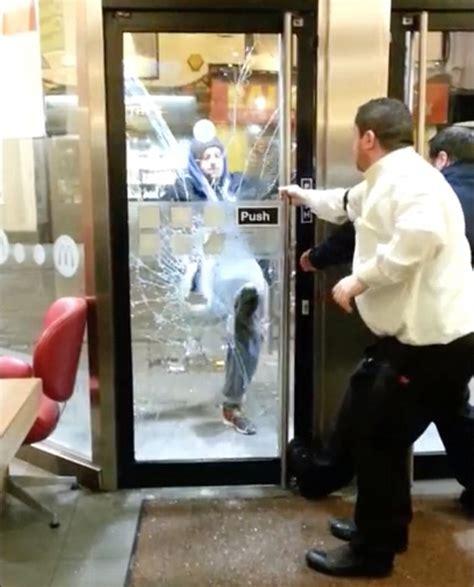 Shower Glass Door Floppy Cock Bulge Sex Photo