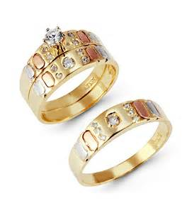 cheap his and hers wedding ring sets wedding rings sets for images