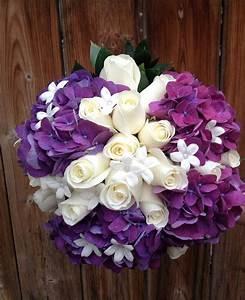 Purple hydrangeas bouquet | Bernard Thibault Floral ...