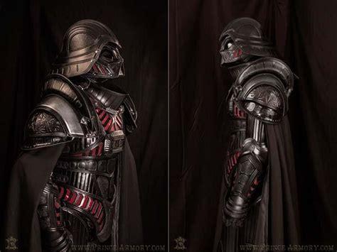 medieval darth vader armor   premium leather