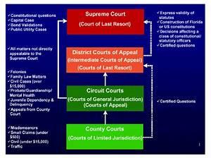 Florida Courts Jurisdiction Flowchart
