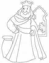 Coloring King Pages Solomon Standing Tut Kings Printable Drawing Sheets Josiah Window Beside Preschool Clipart Bible Story Characters Medieval Bestcoloringpages sketch template