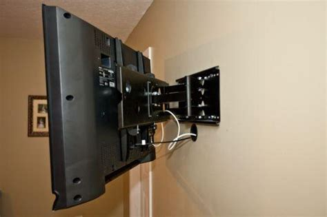 tv on wall mount tv installation 39 s handyman service