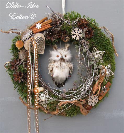 Türkranz Advent Weihnachten by T 252 Rkr 228 Nze T 252 Rkranz Weihnachten Advent Quot Eulenversteck