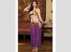 Plus Size Lingerie 3X Genie Belly Dancer Halloween Costume