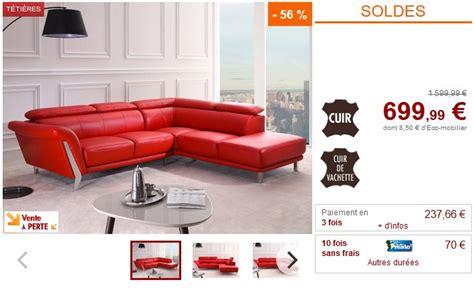 canapé d angle droit pas cher soldes canapé vente unique canapé d 39 angle droit talma en