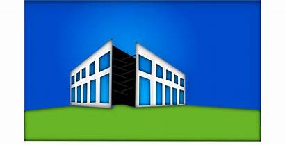 Commercial Clipart Space Clip Storefront Vector Building