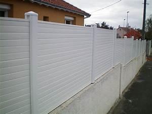 Panneau Brise Vue Pvc Canisse Blanc Pour Balcon Exoteck