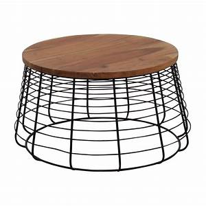 72 off cb2 cb2 round wire coffee table tables for Wire round coffee table