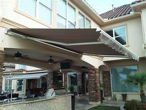 Motorized Pro 16 U0026 39  Sunsetter Retractable Awning From