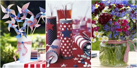 Decorating Ideas For July 4th by 30 Diy 4th Of July Decorations 2017 Patriotic Fourth Of