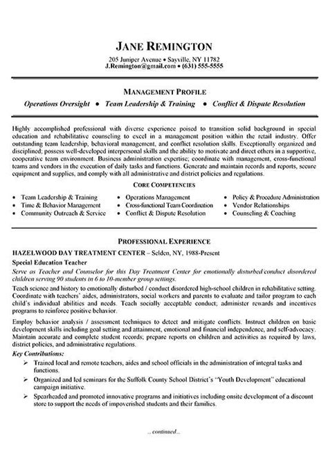 Chronological Resume Career Change by Manager Career Change Resume Exle