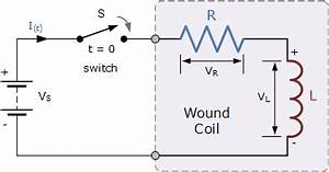 lr series circuit basic electronics tutorials With the basic series rc circuit is shown schematically below