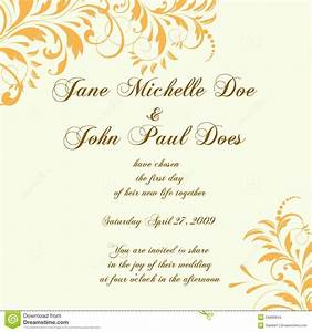 wedding card or invitation with abstract floral background With wedding invitation cards valavi