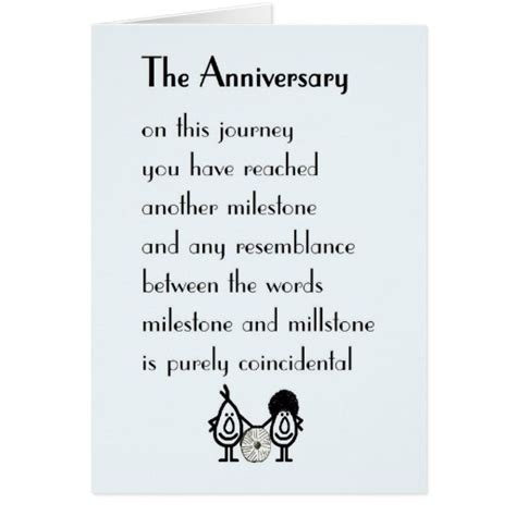 gift for 50th wedding anniversary the anniversary a wedding anniversary poem card
