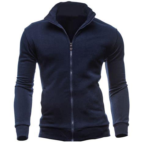 New 2017 winter Fashion Hoodies Men Hip Hop Mens Brand Solid Hooded Zipper Hoodie Cardigan ...