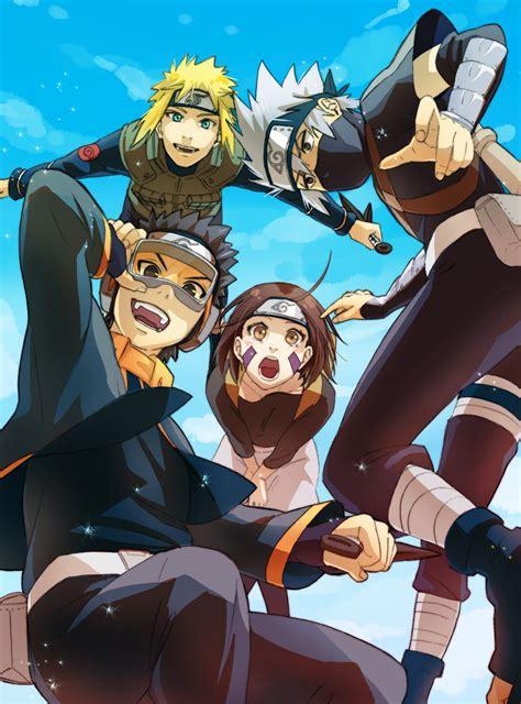 team minato mobile wallpaper zerochan anime image board