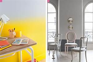 Peinture Sur Papier Peint Existant : d co bas de murs lambris moulure peinture maison cr ative ~ Dailycaller-alerts.com Idées de Décoration