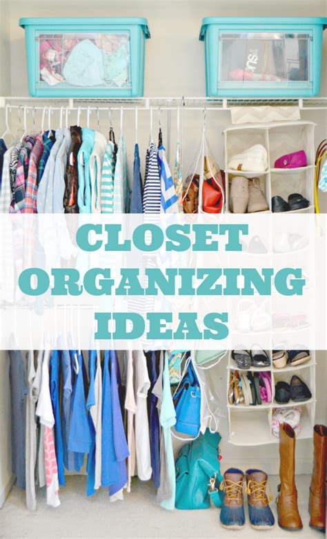 easy closet organization ideas 4 real