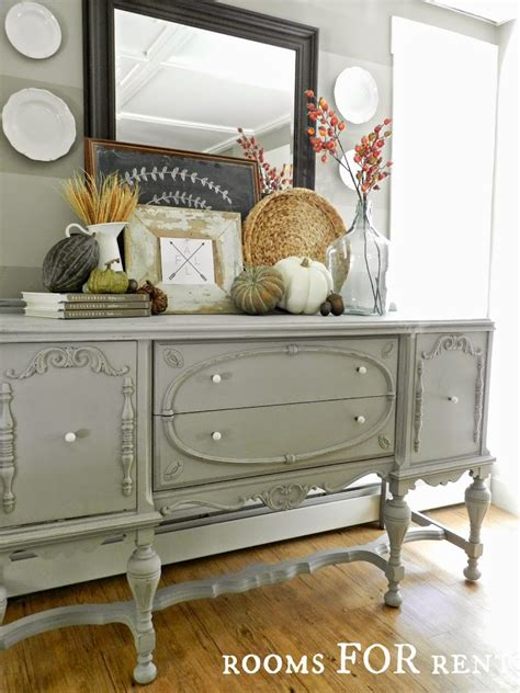These storage pieces range in style from. Painted Antique Buffet Reveal - Rooms For Rent blog