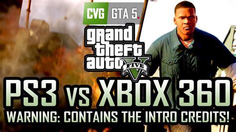 Ps3 Vs Xbox 360 Comparison