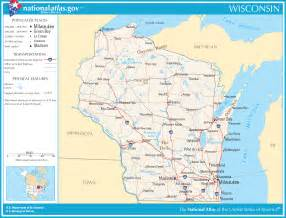 Printable Wisconsin Map