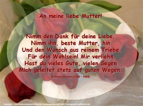 An Meine Liebe Mutter! (wilhelm Grimm)
