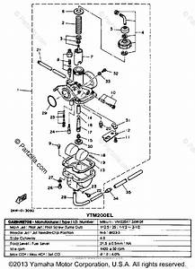 Yamaha Atv 1983 Oem Parts Diagram For Carburetor