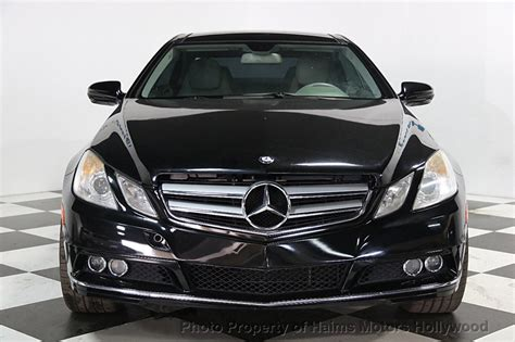2010 Used Mercedes-benz E-class 2dr Coupe E350 Rwd At