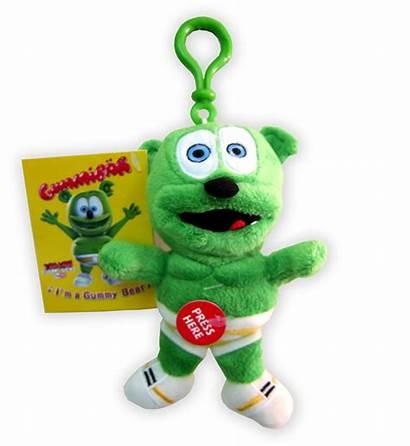 Gummy Bear Toy Plush Singing Clip Gummibar