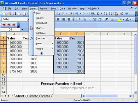 Forecast Function In Ms Excel  Doovi. Sales Receipt Template Pdf. Excellent Sample Resume Objective Statements. Kindergarten Lesson Plan Template. Google Drive Brochure Template. Graduation Money Lei Ideas. Pretty Book Covers. Project Timeline Template Excel. Template For Writing A Book